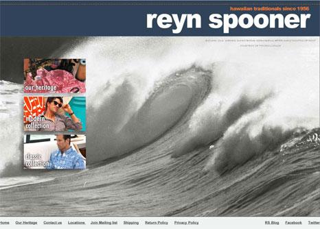 New Reyn Spooner Website