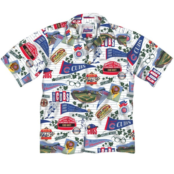 Chicago Cubs Hawaiian Shirt
