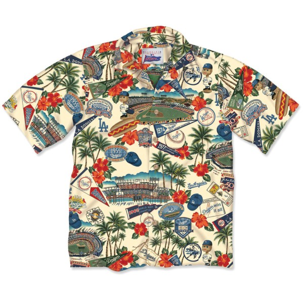 Los Angelos Dodgers Hawaiian Shirt