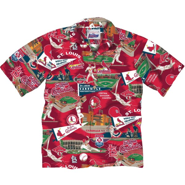 St. Louis Cardinals Hawaiian Shirt