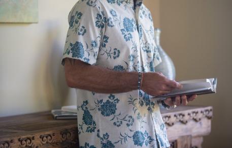Reyn Spooner Kupulau Pareau shirt in Almond