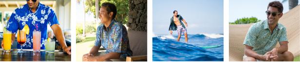 aloha shirt styles