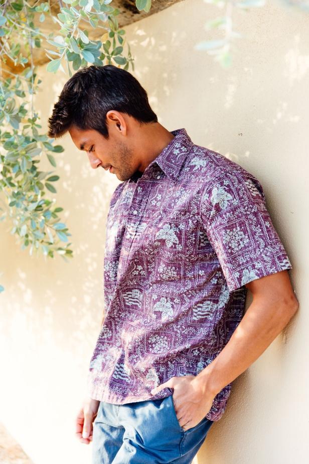 Lahaina Sailor Aloha Shirt